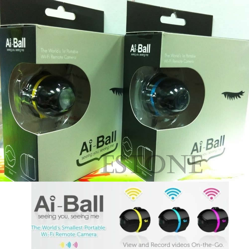 Ball Mini Wifi Remote Cam IP Wireless Spy Surveillance Camera For ... for Mini Spy Camera For Iphone  103wja