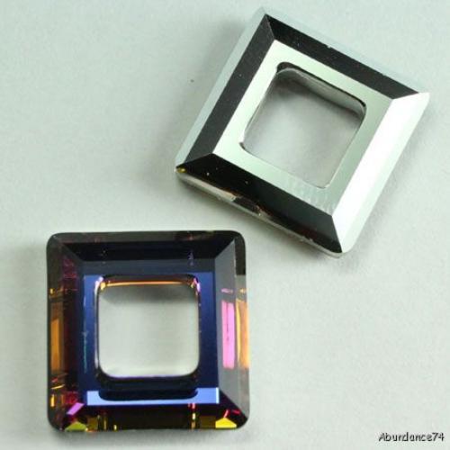 40eb978c0061e pcs Swarovski Crystal 4439 Square Frame 14mm Volcano on PopScreen
