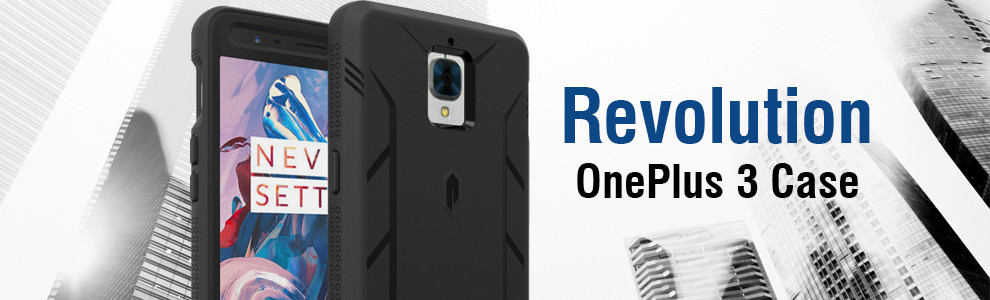 on sale 273a9 67d36 Details about POETIC【Revolution】Built-In Screen Protector Case For OnePlus  3T / OnePlus 3