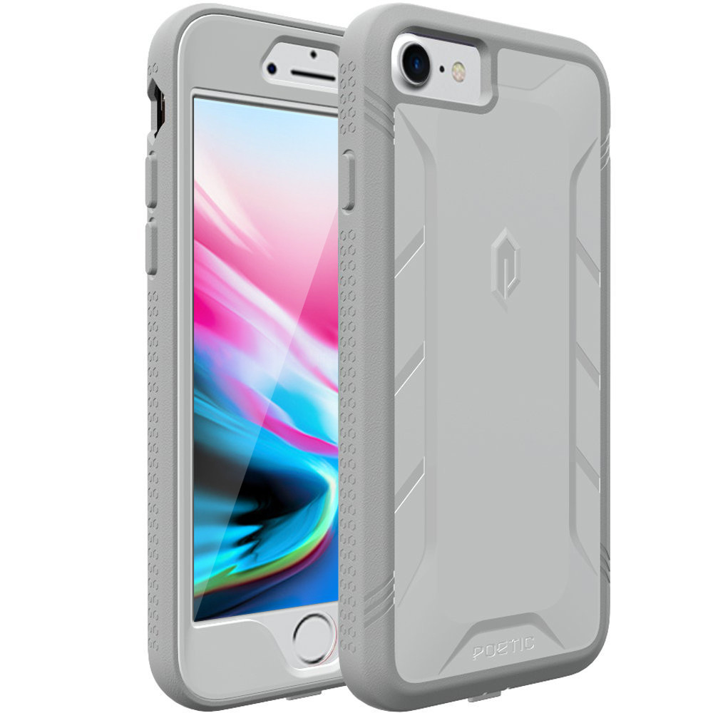 iphone 8 plus case built in screen protector