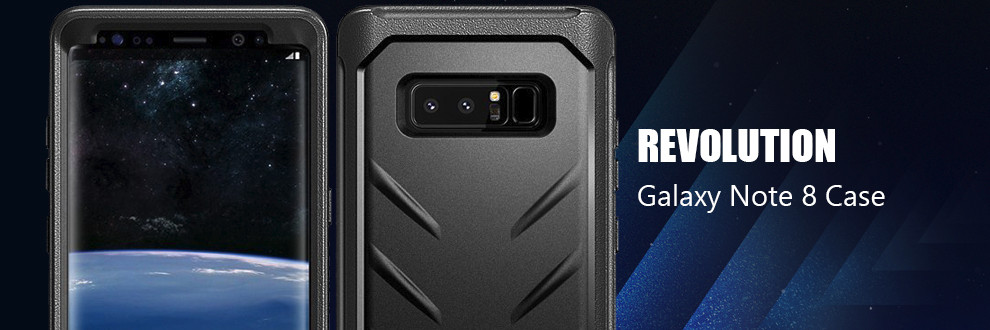 new arrival 876ba 27333 Details about Poetic For Samsung Galaxy Note 8 Case [Revolution] Shockproof  Rugged Cover Blue