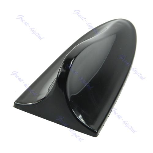 new black auto car universal shark fin roof decorative. Black Bedroom Furniture Sets. Home Design Ideas
