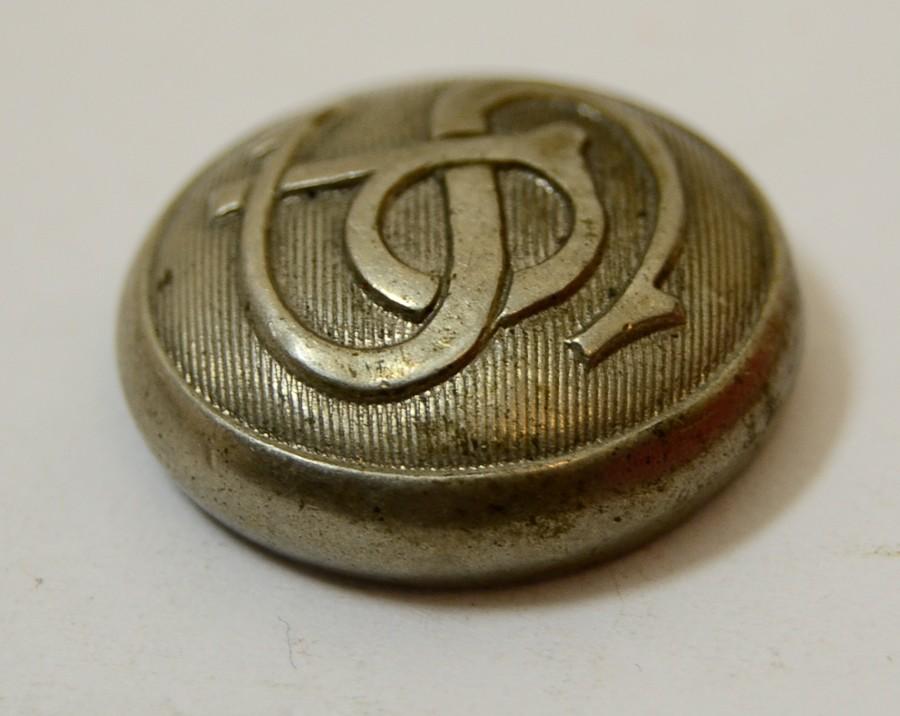 Vintage SP Southern Pacifc Railroad Uniform Button Superior Quality