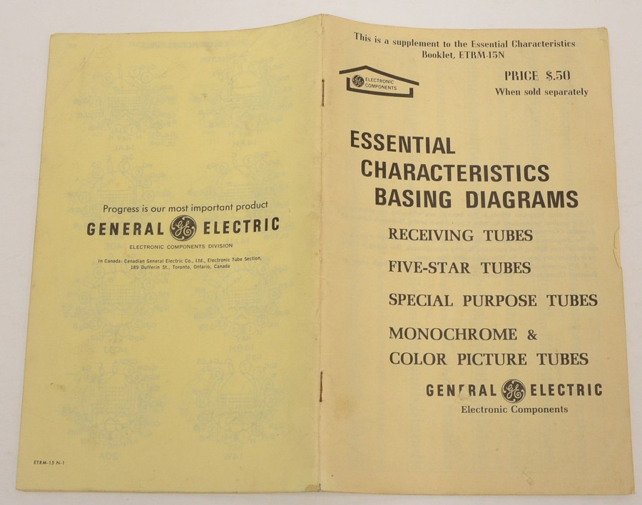general electric wiring diagram ge general electric vacuum tube basing wiring diagrams etrm 15n  ge general electric vacuum tube basing