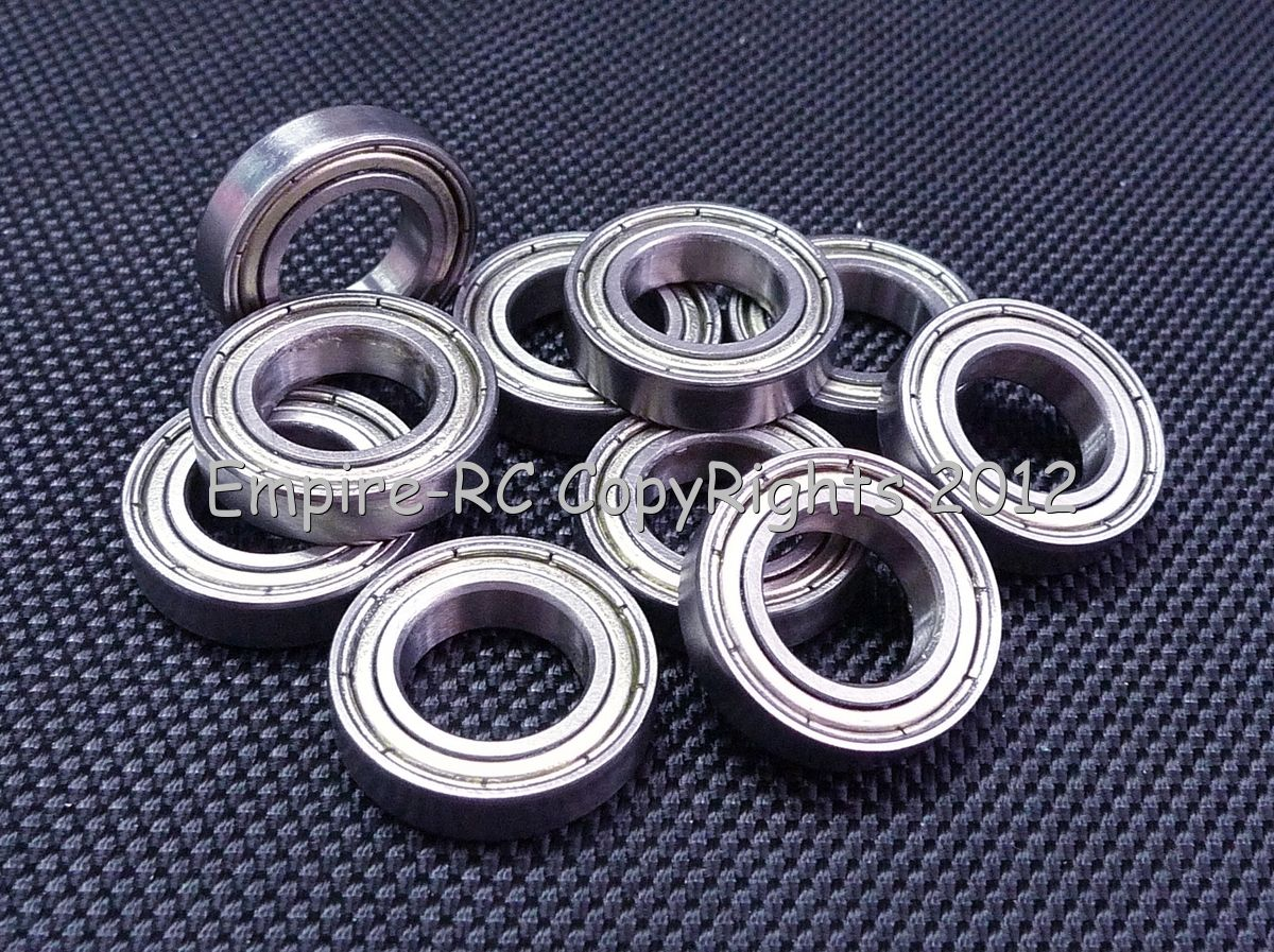 Metal Shielded PRECISION Ball Bearing 627ZZ PICK YOUR QUANTITY 7x22x7 mm