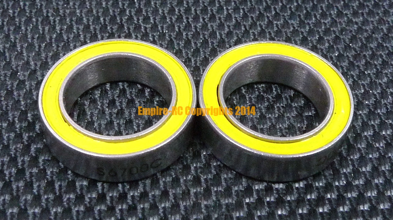 440c Stainless Steel CERAMIC Ball Bearing 2 PCS S623C-2OS ABEC-7 3x10x4 mm