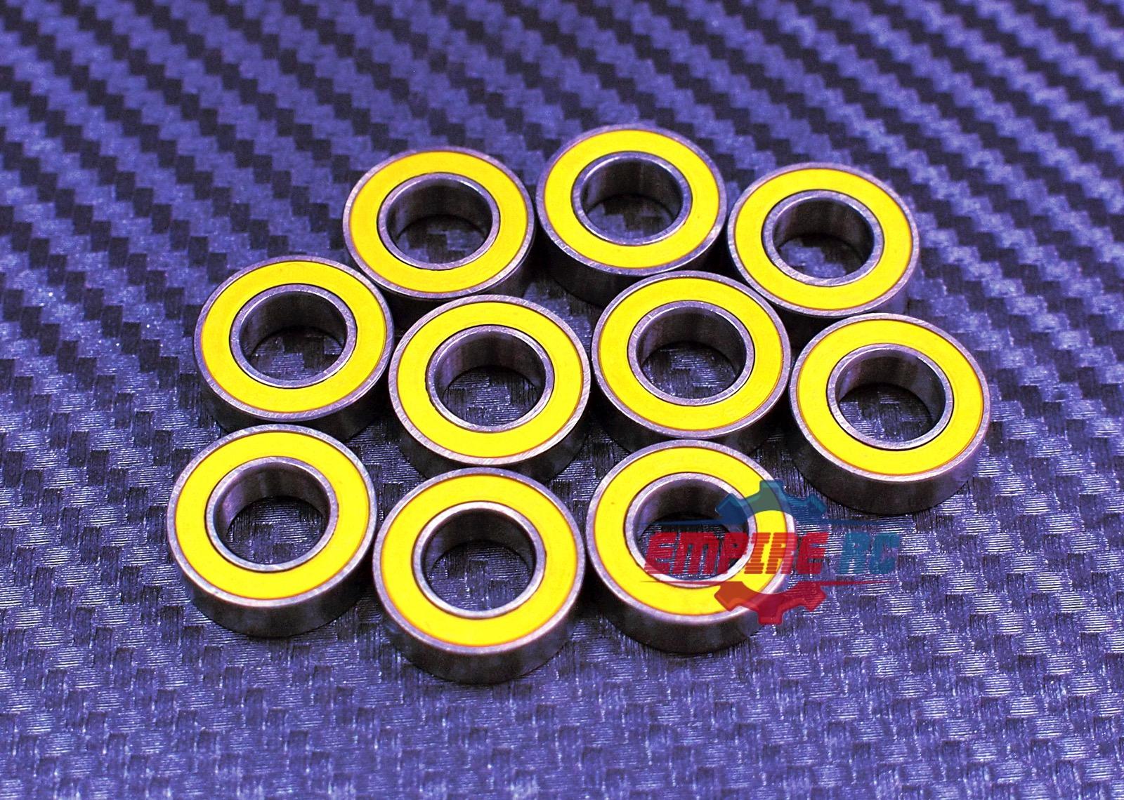 688-2RS 8x16x5 mm Bearing Rubber Blue Sealed Ball Bearings 688RS 10Pcs
