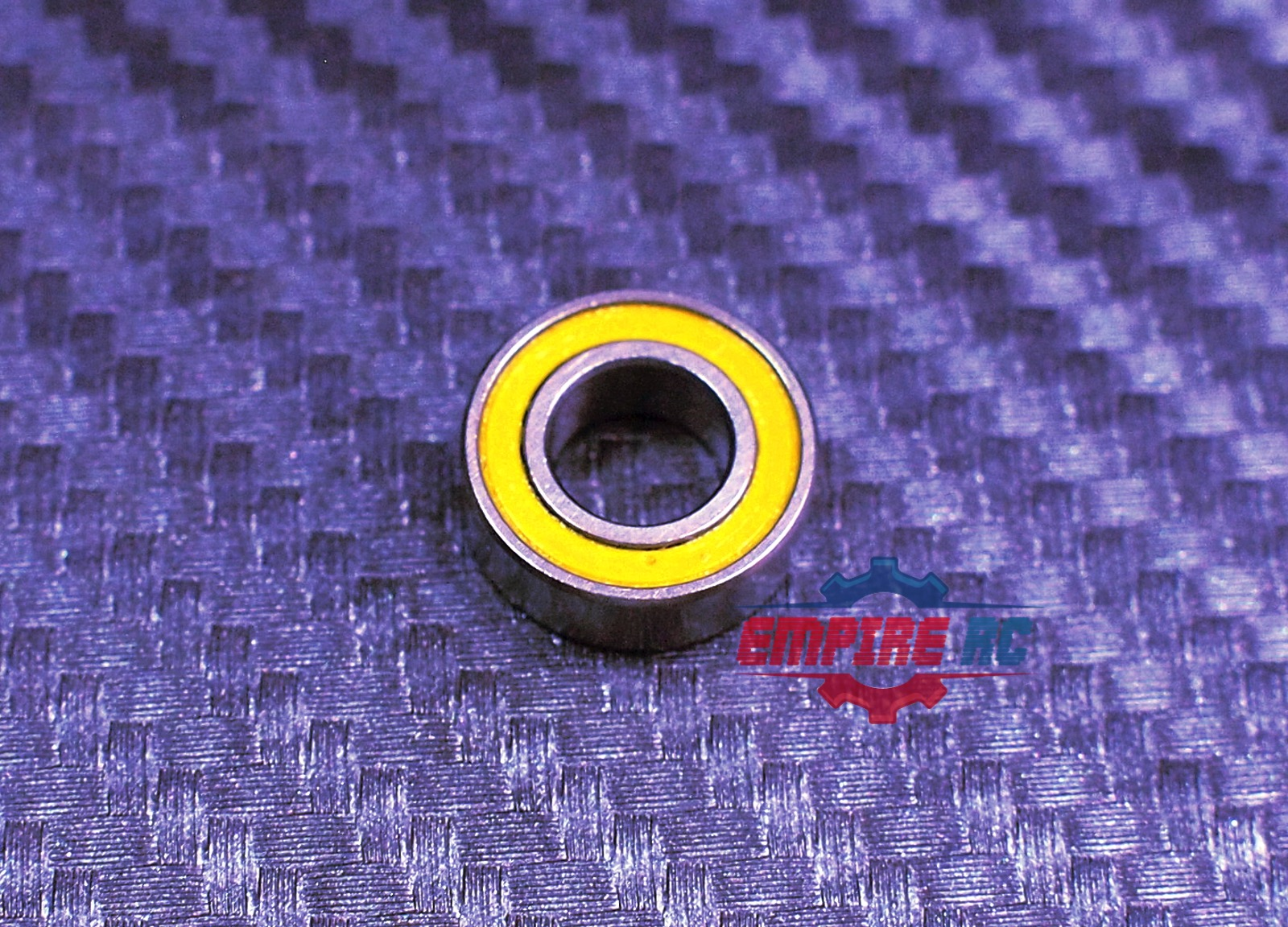 Metric Blue Rubber Wrapped Roller 6 10 3 60 pieces mr106-2rs 6x10x3mm