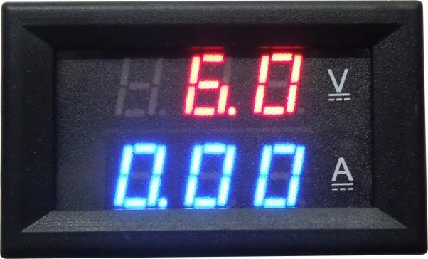 Dorl /_ A Mini Rot LED Digital Panel Amp Meterspur Dc 20A /& Shunt