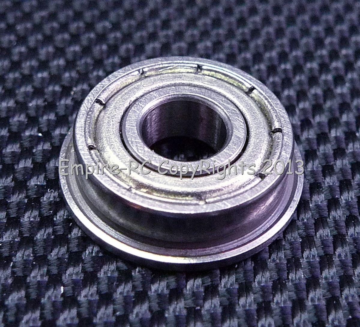 Metal Shielded FLANGED Ball Bearing Bearings 50 PCS 5x13x4 mm F695ZZ