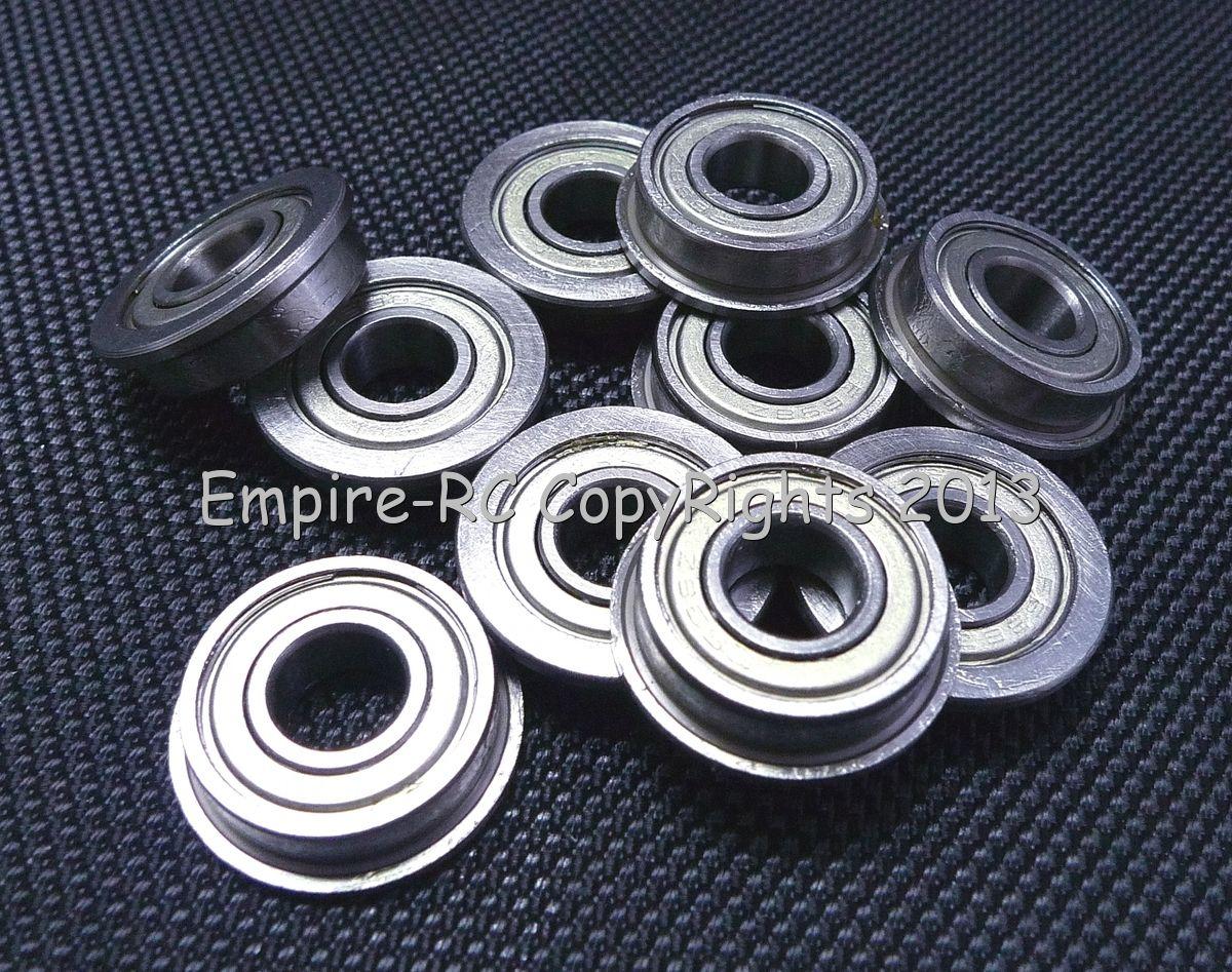 10x19x5mm 5pcs F6800zz Metric Metal FLANGE Ball Bearing 10*19*5 F6800z