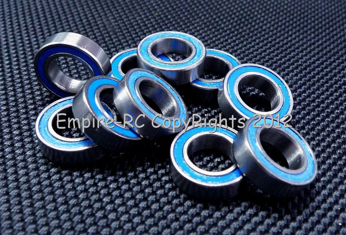 MR148-2RS Rubber Sealed PRECISION Ball Bearing 8x14x4 mm 10 PCS BLUE