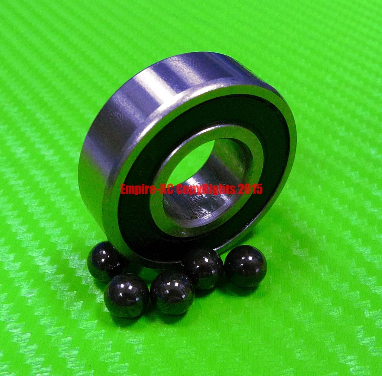 1PCS 16001-2RS Hybrid Ceramic Chrome Metal Bearing Bearings 16001RS 12x28x7 mm