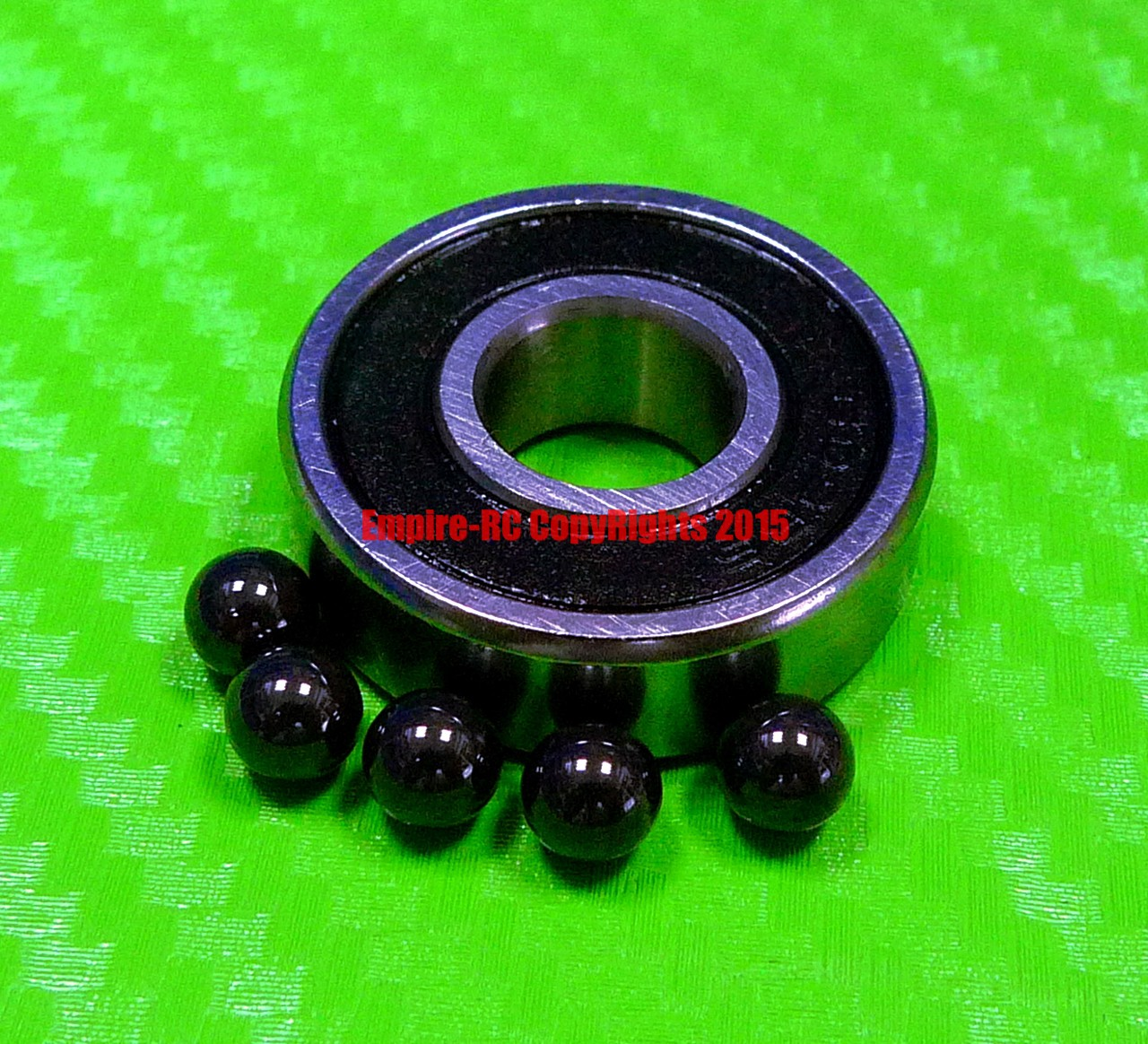 10x19x7 mm 4PCS 63800-2RS Hybrid Ceramic Chrome Metal Bearing Bearings 63800RS