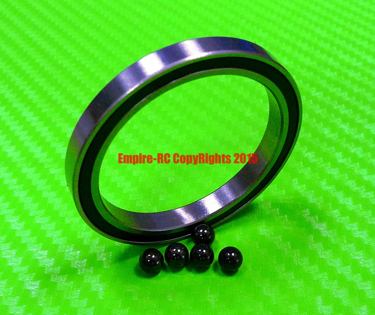 12x18x4 mm 6701-2RS Hybrid Ceramic Rubber Ball Bearing Bearings 6701RS QTY10