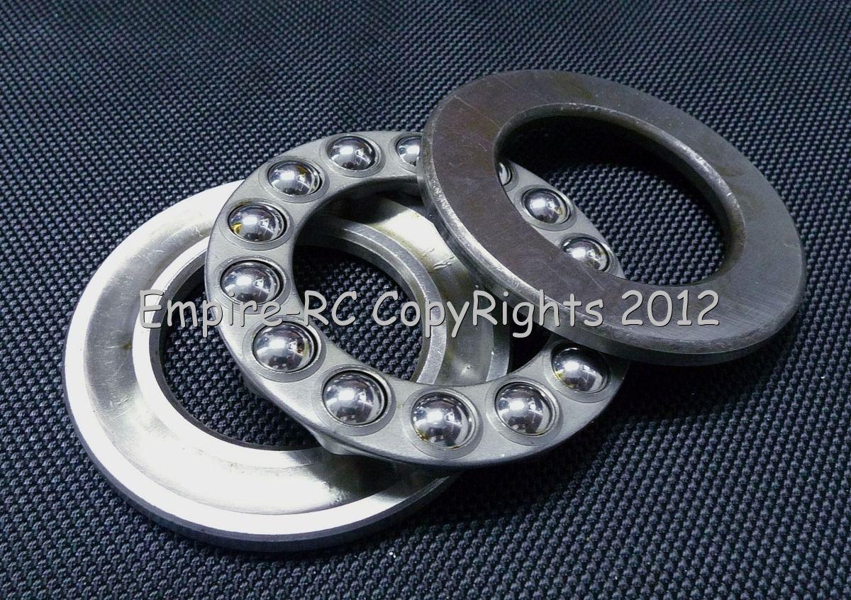 4pcs Axial Ball Thrust Bearing 25mm x 42mm x 11mm 51105