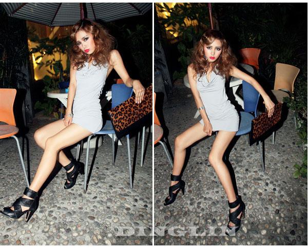 Maxi Chiffon Elegant Lotus Leaf Summer Long Dress Skirt #337
