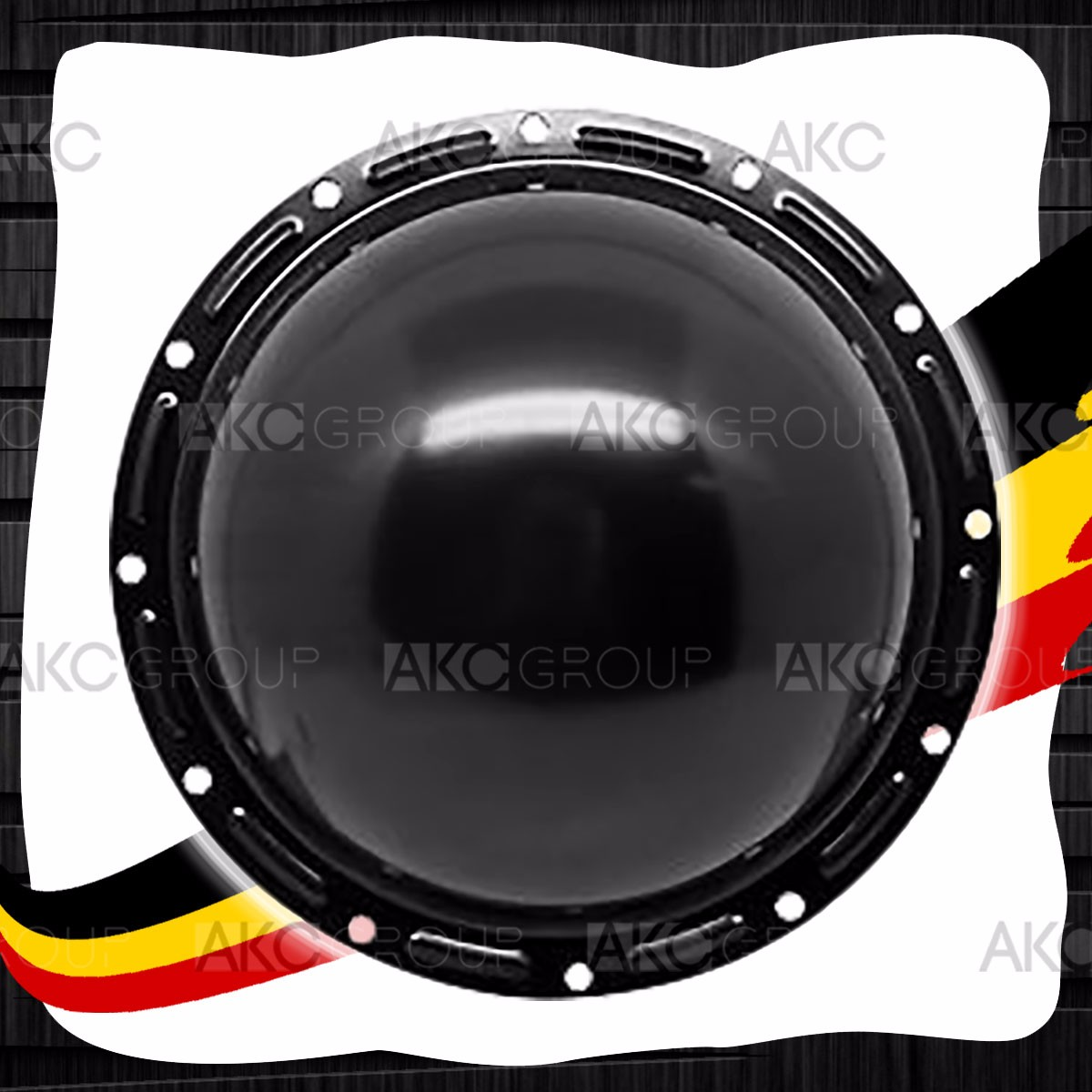 1976-85 Jeep Spicer 20 Corporate Black Steel Rear Differential Cover 12 Bolt
