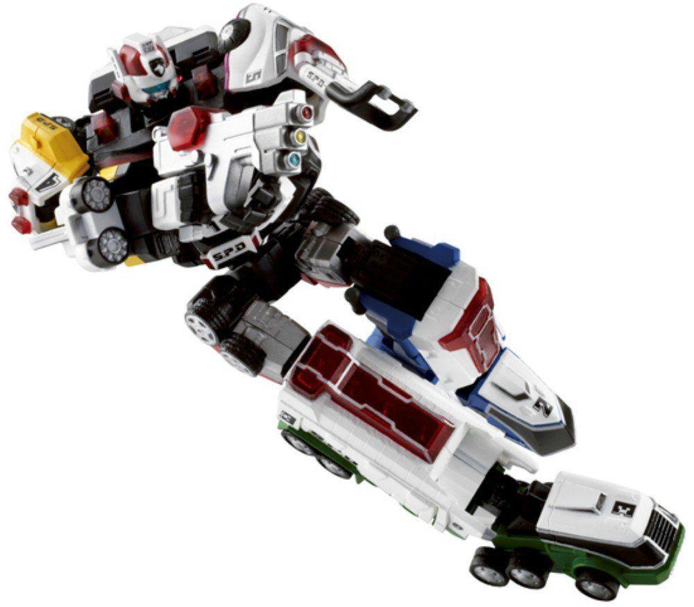 Neu Super Robot Chogokin Tokusou Sentai Dekaranger Robo Actionfigur Japan Action- & Spielfiguren