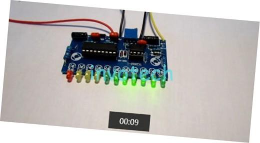 Vu Meter Using Lm3915