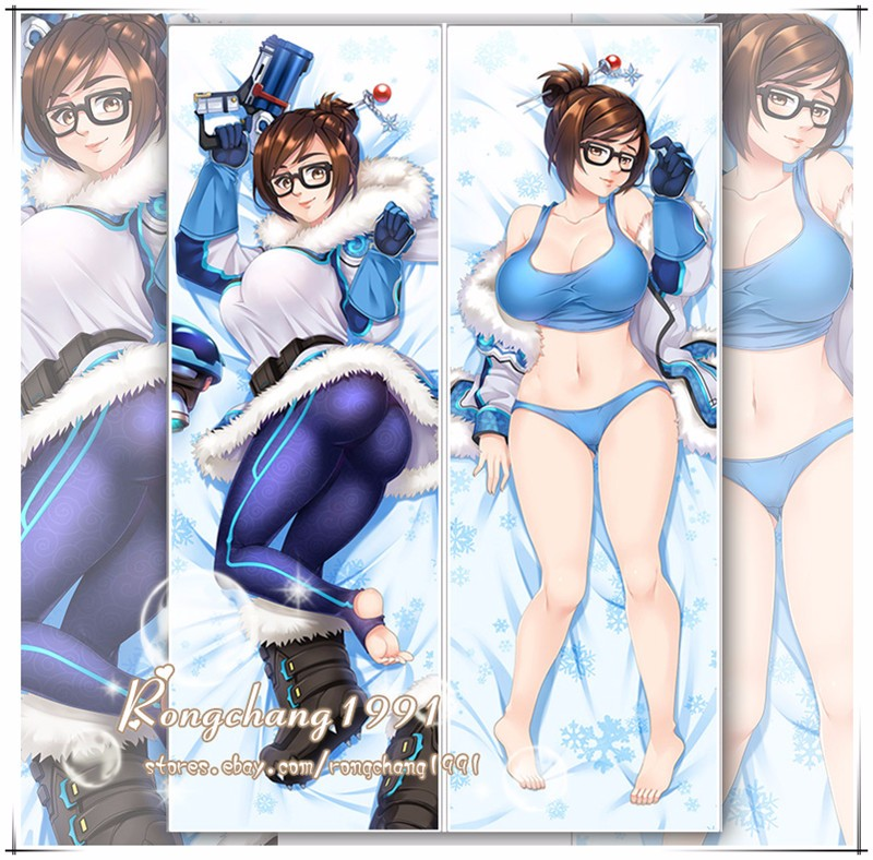 Hot Game Overwatch Dr Mei Ling Zhou Dakimakura Hug Body