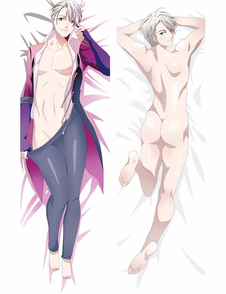 on ICE Victor Nikiforov Dakimakura Hugging Body Pillow Case 150cm Anime YURI!!
