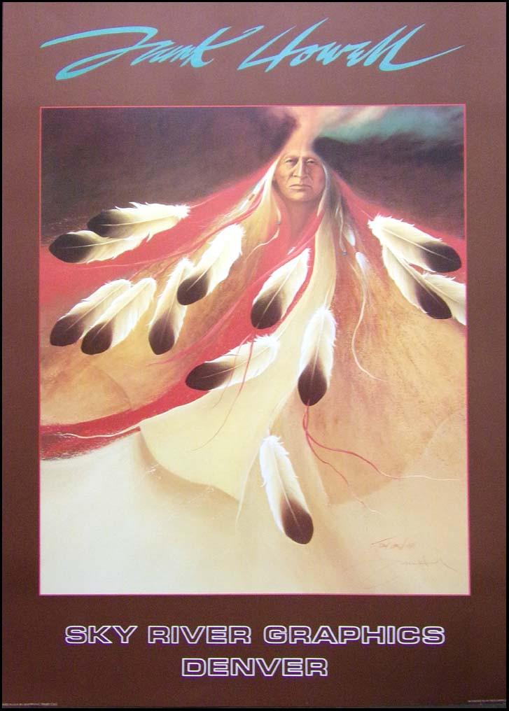 "Frank Howell Poster /""April/'s Song/"" Art  Offset Lithograph Make an Offer"