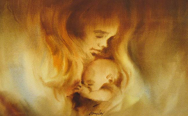 Mother Child Pictures Paintings