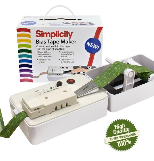 Simplicity Bias Tape Maker Binding Machine X1 Single Fold