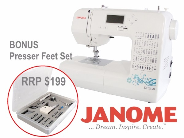 Janome DC40 Sewing Machine Updated From DC40 Presser Feet Set Unique Janome Sewing Machine Starter Kit
