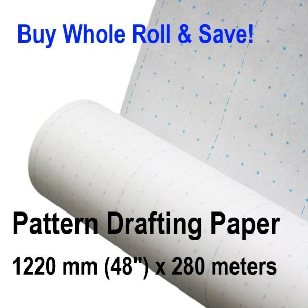 Patternmaking Paper Whole Roll Pattern Making Drafting Sewing ...
