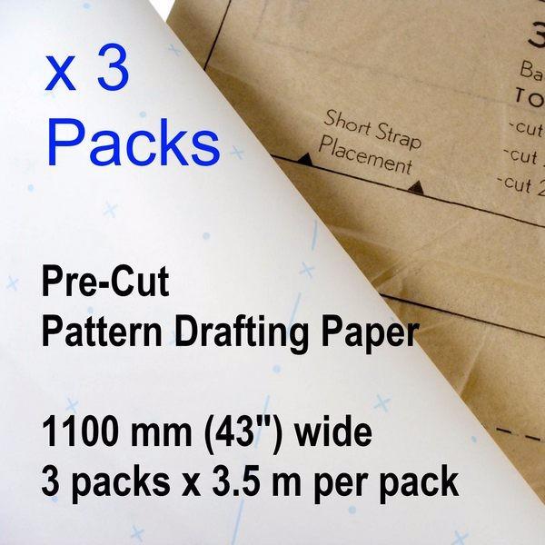 Patternmaking Paper 3 packs