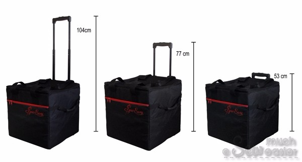 When you go anywhere with your sewing machine WITHOUT your Sewing Machine  Trolley Bag 3d056ea99b781