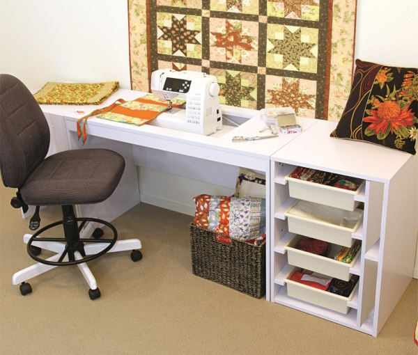 Note: Sewing Machine And Other Furniture NOT Included. This Listingis For  Table ONLY.