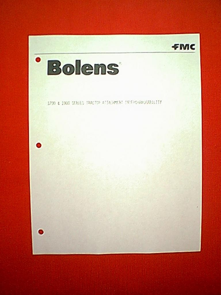 Bolens Ht20 Schematic Electrical Wiring Diagrams Diagram 1700 1900 Series Tractor Attachment Interchangeability Logo