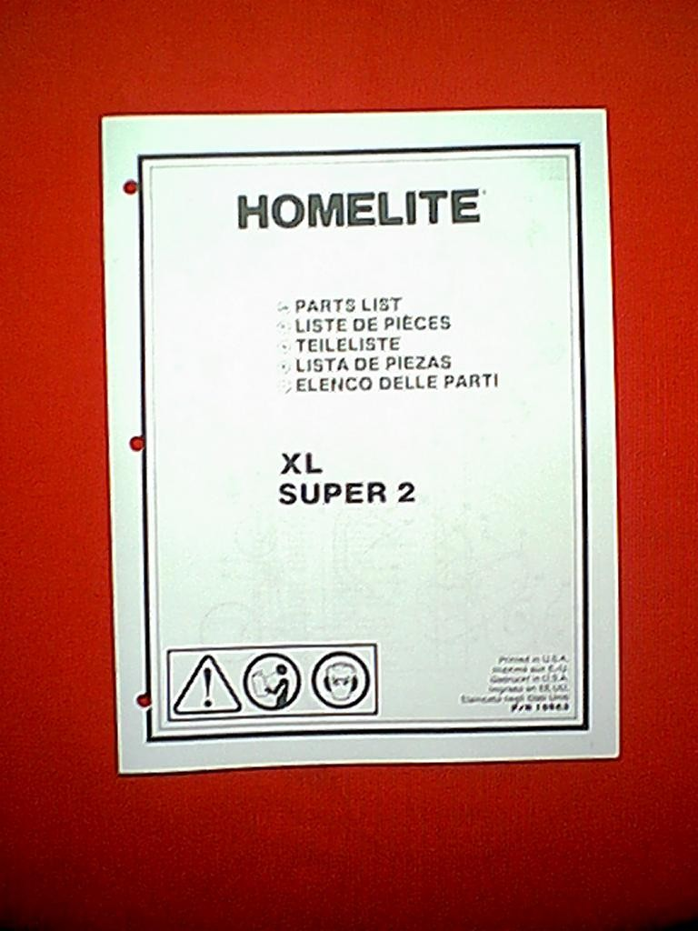 Homelite chain saw model xl super 2 parts manual ebay homelite chain saw model xl super 2 parts manual pooptronica