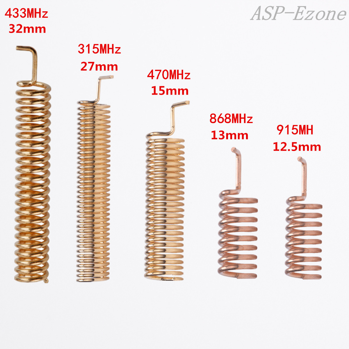 10pcs Helical Antenna 315mhz 470mhz 868mhz 433mhz 915mhz For Remote Inductor Coil Tv And Camera Buy Power Coilinductor Welcome To Bulk Purchasewe Will Give You A Great Discount