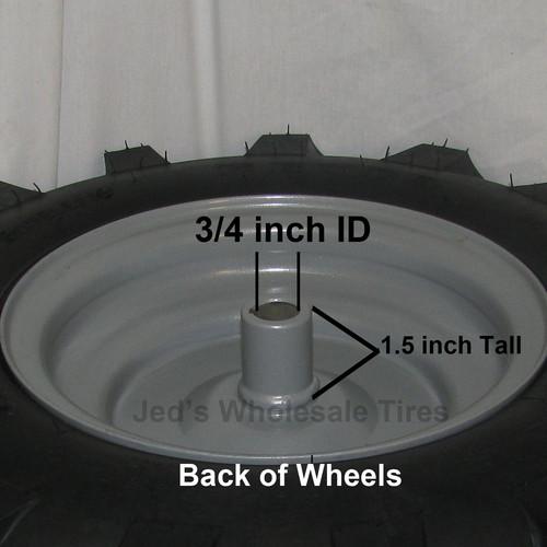 2 4 80 4 00 8 Snow Blower Thrower Tire Rim Wheel Assemblies 88133 88134 4ply