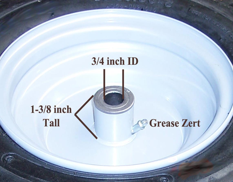2 15x6 00 6 15 6 00 6 Riding Lawn Mower Garden Tractor Tire Rim Wheel Assembly