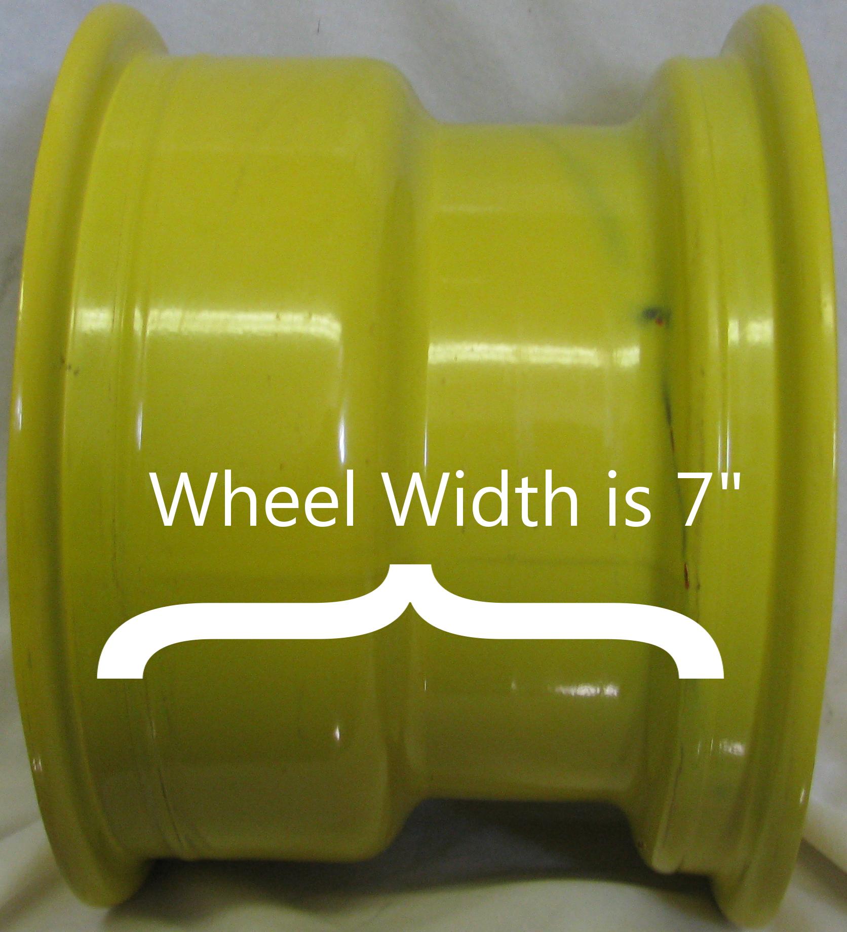 "10"" Rim Wheel for John Deere Zero Turn Riding Lawn Mower Garden Tractor 10x7"