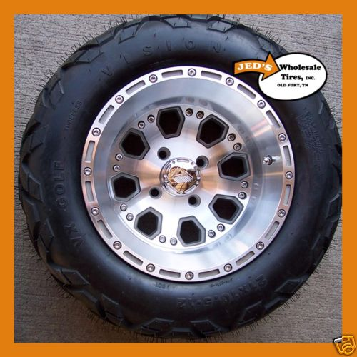 21x10 50 12 Lifted Golf Cart Tires Wheels 6ply Dot App Ebay