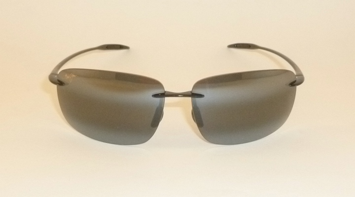 005231d1fba Details about Brand NEW Authentic Polarized MAUI JIM BREAKWALL Sunglasses  Black Frame 422-02