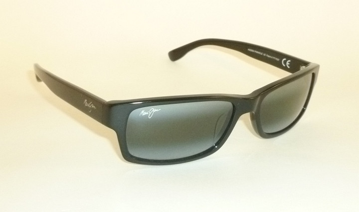 34397ff118ac New Authentic Polarized MAUI JIM HIDDEN PINNACLE Sunglasses Black ...