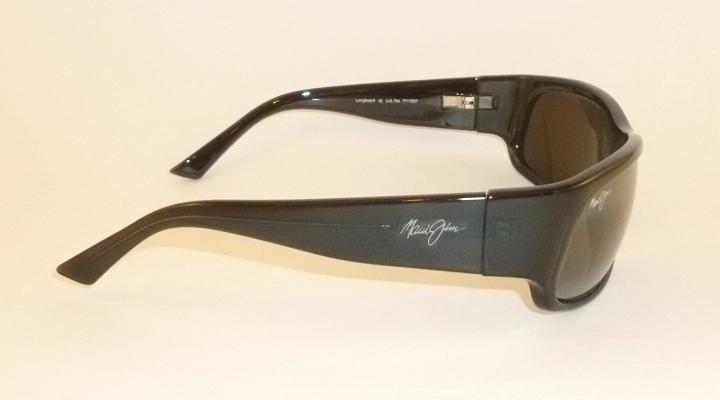 Authentic Polarized MAUI JIM LONGBOARD Sunglasses Smoke Grey 222 11