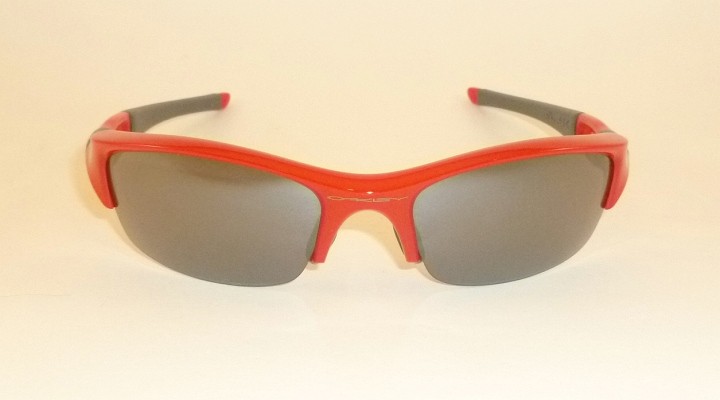 9a2be537f9 New OAKLEY FLAK JACKET Sunglasses Infrared Frame 03-905 Black ...