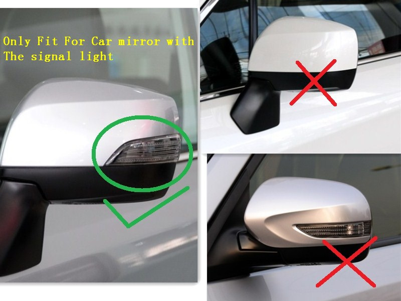 Replacement Carbon Fiber Side Mirror Cover For Subaru Xv