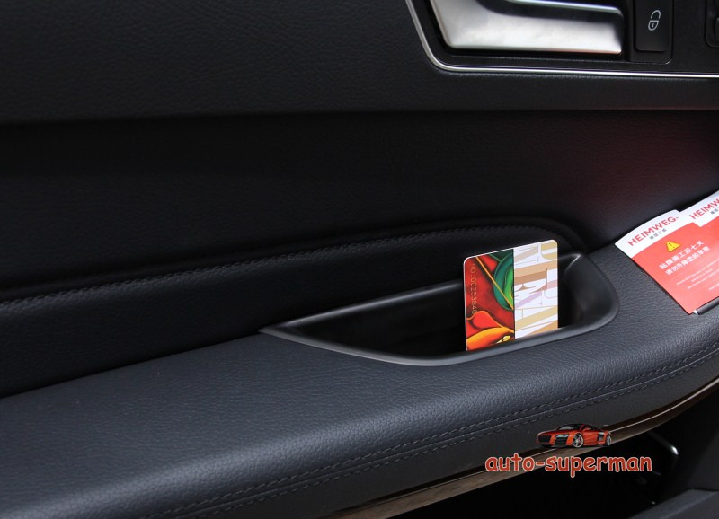 Except 2door S//Steel Door Stereo Speaker chrome cover trim For Benz E W212 2010