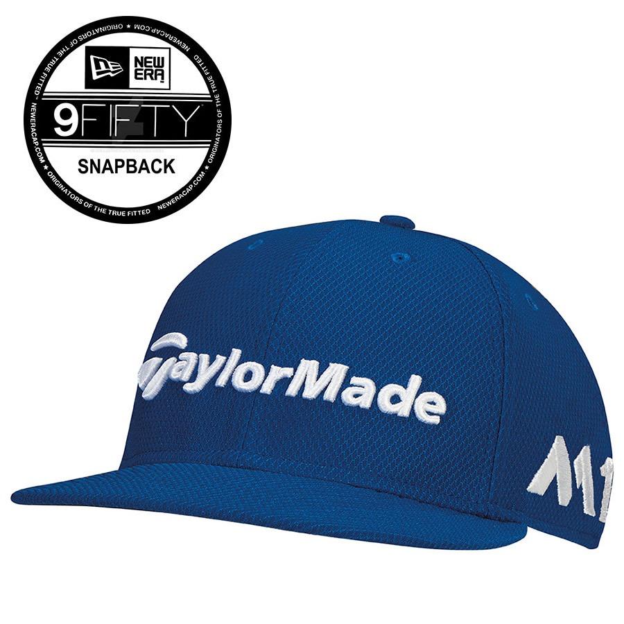 5d01dd065b6 TaylorMade New Era Tour 9Fifty Snapback Hat M1 TP5 Azure Blue - New ...