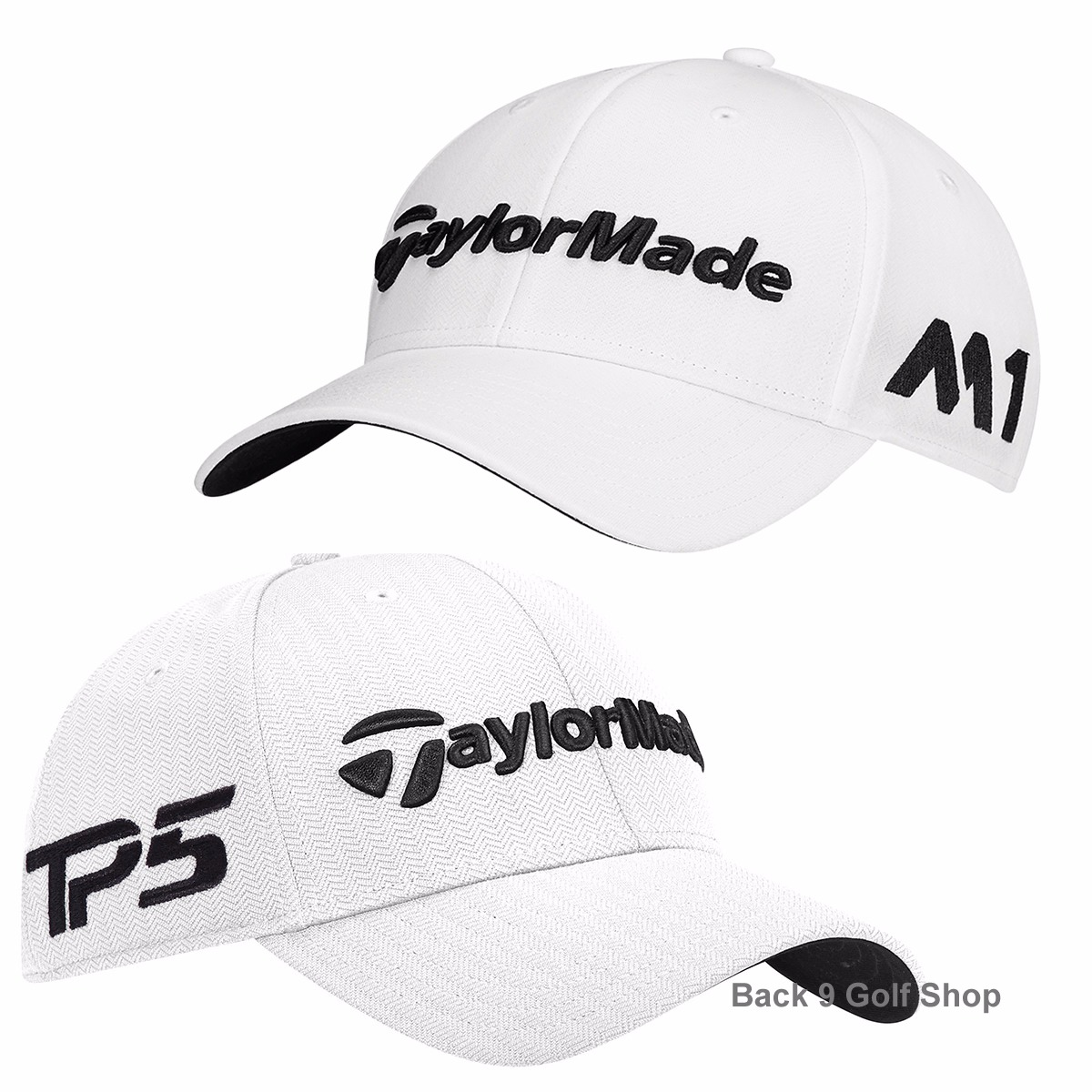 ab378f8534a Details about New TaylorMade M1 TP5 Tour Radar Hat Adjustable Mens Golf Hat  White