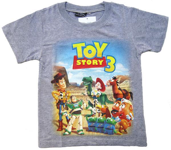 e48e975d4f22e7 New Grey DSN Toy Story 3 Costume Kids Boy Short Sleeve T Shirt St on ...